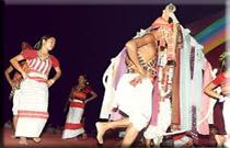 garia dance of tripura