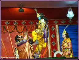 dhanu jatra dance