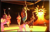 lamp dance